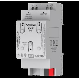 DIMinBOX DX1 - Actionneur variateur universel (RLC, LED, CFL) pour rail DIN - Zennio - ZDI-DBDX1