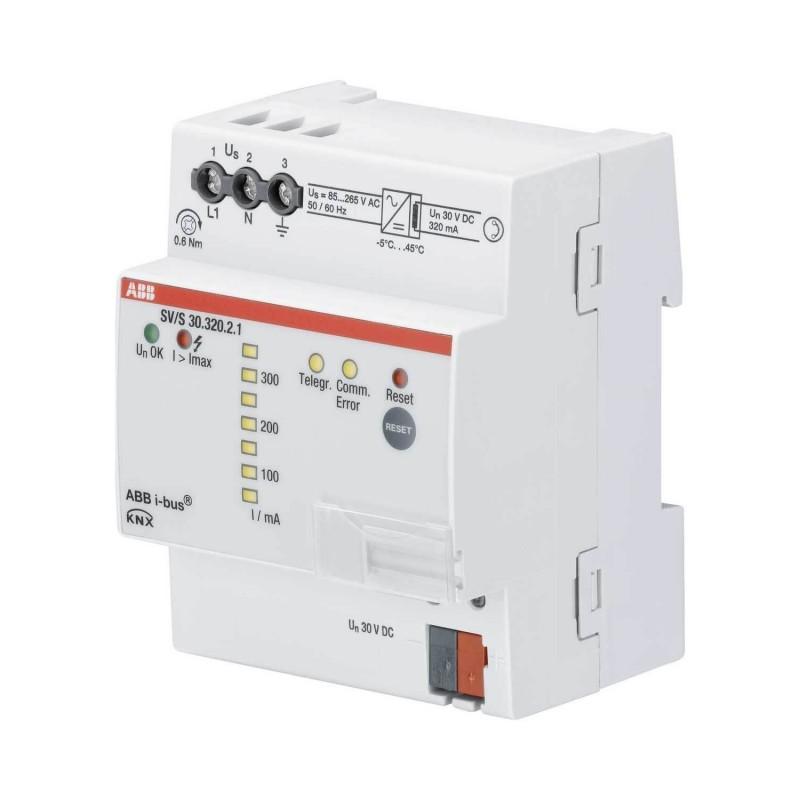Alimentation Bus KNX avec diagnostics, 320 mA, MRD SV/S30.320.2.1 - ABB