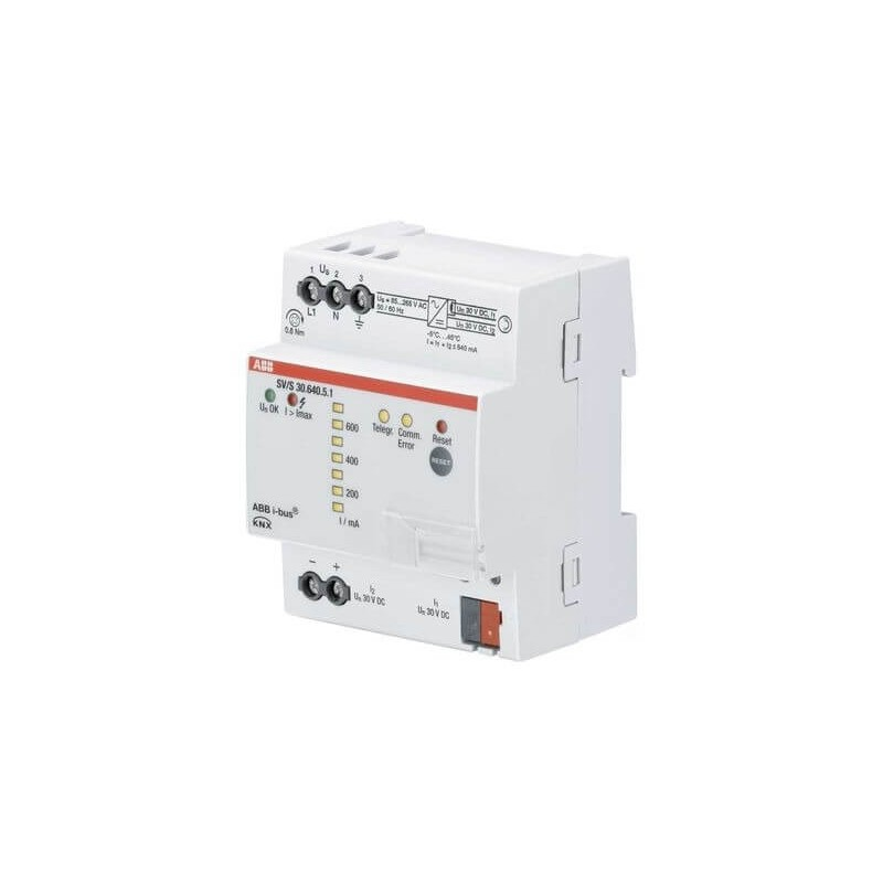 Alimentation Bus KNX avec diagnostics, 640 mA, MRD SV/S30.640.5.1 - ABB