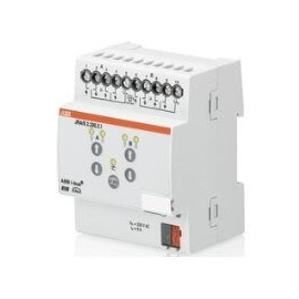 Module KNX stores/volets roulants avec commande manuelle, 2 sorties, 230VAC, MRD - JRA/S2.230.2.1 - ABB