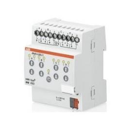 Module KNX stores/volets roulants avec commande manuelle, 4 sorties, 230VAC, MRD - JRA/S4.230.2.1 - ABB