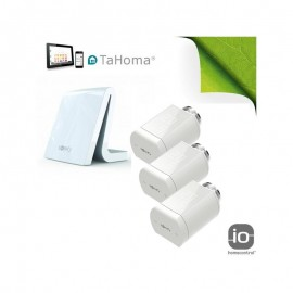 Pack chauffage tête thermostatique io - TaHoma V2 - Somfy