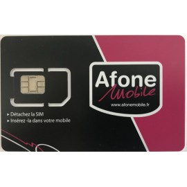 Carte SIM M2M Afone -...