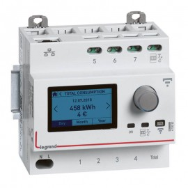 Ecocompteur modulaire connecté DRIVIA with Netatmo - Legrand