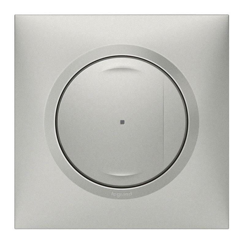 Interrupteur filaire avec Neutre connecté Dooxie with Netatmo - aluminium - Legrand - 600190