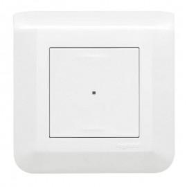 Interrupteur filaire avec Neutre connecté - Mosaic with Netatmo - Legrand - 077708L