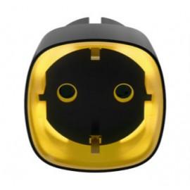Socket - Prise schuko intelligente sans fil - contrôle d'énergie - Noire - Ajax Systems