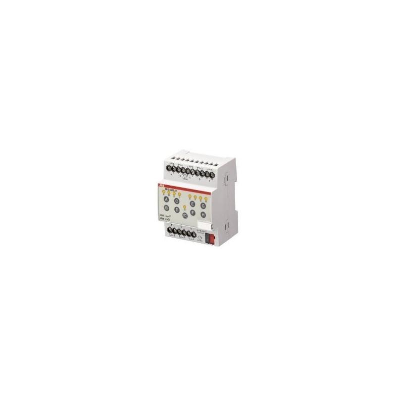 Module KNX 8 entrées TOR, 10 – 230 V AC/DC, MRD - BE/S8.230.2.1 - ABB