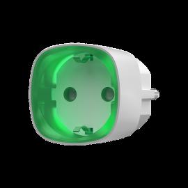 Socket - Prise schuko intelligente sans fil - contrôle d'énergie - Blanc - Ajax Systems
