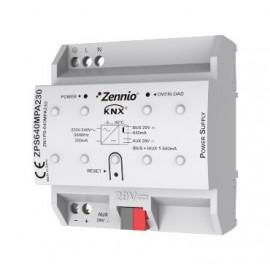 ZPS640MPA230 - Source d'alimentation KNX 640mA avec auxiliaire de 29VDC. Vin:230VAC - Zennio