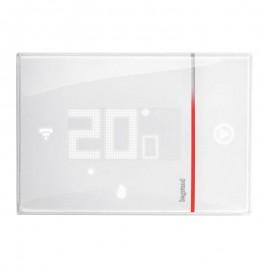 Thermostat connecté Smarther with Netatmo encastré - blanc - Legrand - 049038