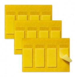 Lot de 3x4 adhésifs repositionnables pour fixation d'une commande sans fil - Legrand - 064871