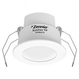 EyeZen TP - Détecteur de présence KNX avec capteur de luminosité pour plafond - Blanc - Zennio - ZPDEZTPW