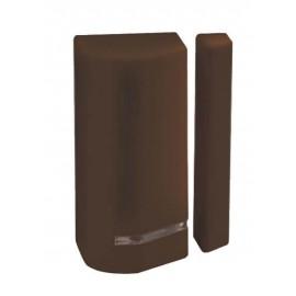 Détecteur ouverture de portes / fenêtres sans fil - NFa2p - bidirectionnel - marron - RISCO - RWX73M