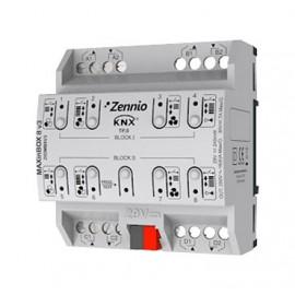 MAXinBOX 8 Plus V3 - Actionneur 8 sorties 16A KNX multifonction - Zennio - ZIOMB8V3