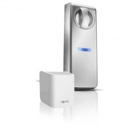 Pack serrure connectée pour porte épaisse jusqu'à 9 cm + passerelle internet - Somfy - 1811704