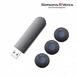 Set de démarrage - Clé de programmation + 3 transpondeurs - Simons Voss – 45080