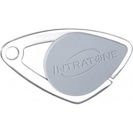 Badge électronique Mifare inox Gris - Intratone - 08-0102