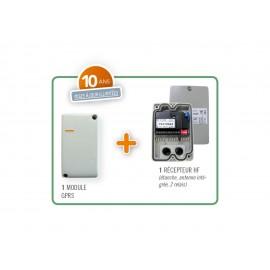Intrabox Data Éco récepteur HF étanche - 06-0101 - Intratone