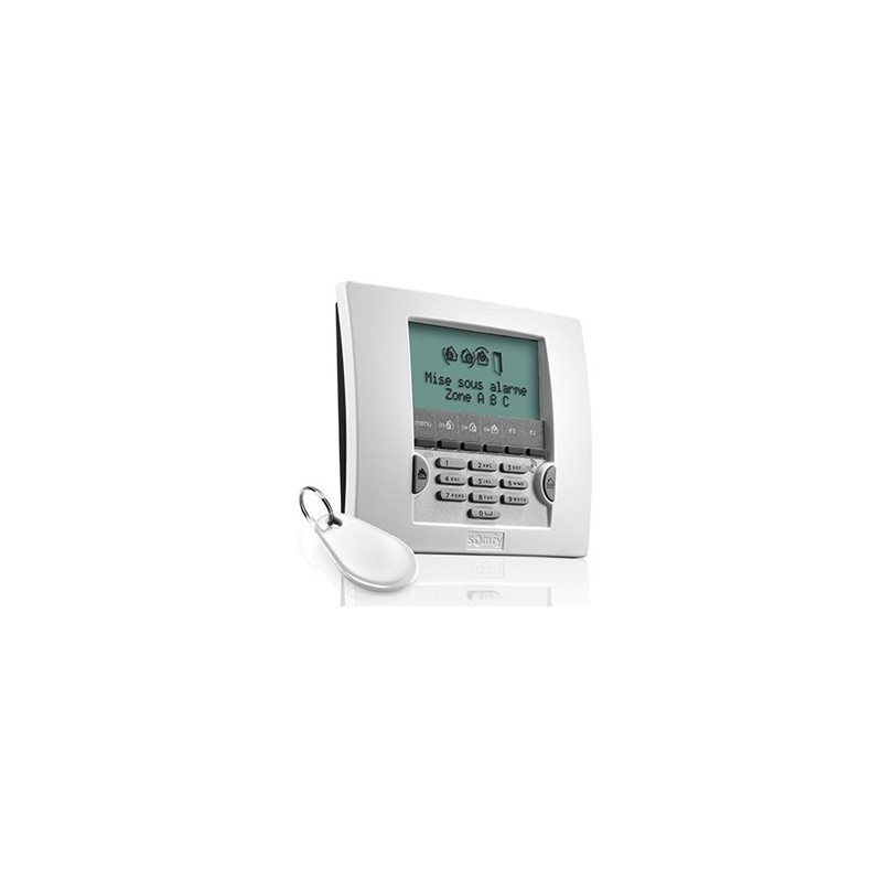 Clavier LCD avec badge - Somfy - 1875119 / 2401013