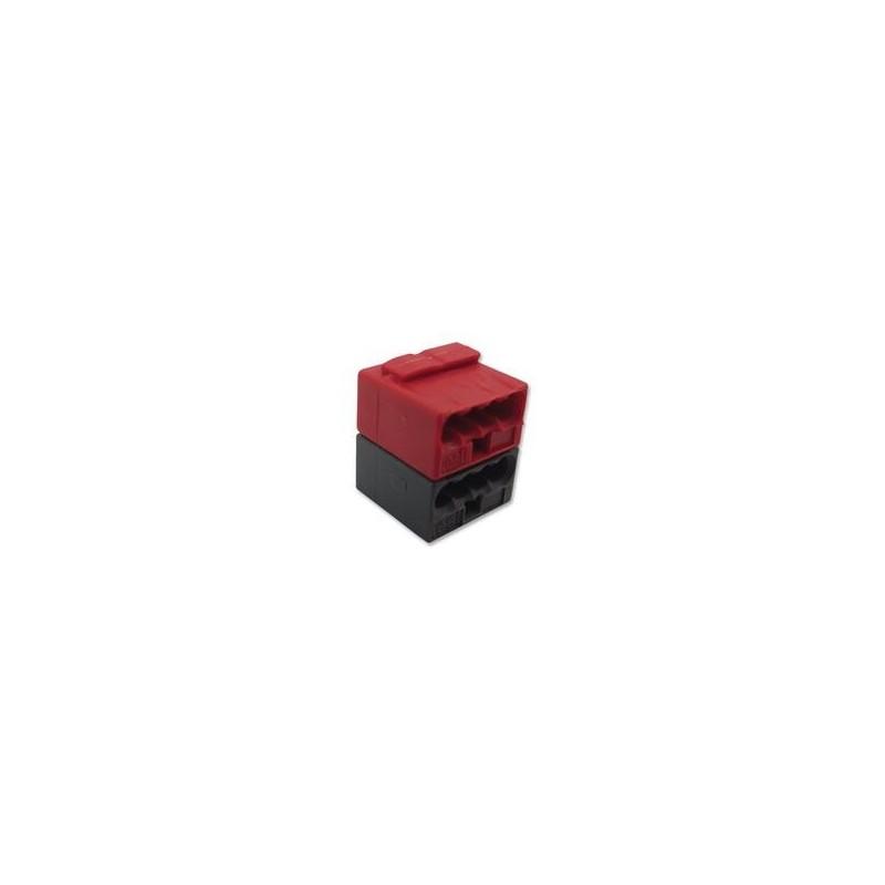 Connecteur BUS KNX. WAGO 243-211 Rouge-Gris