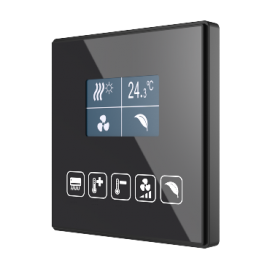 Square TMD-Display KNX - Interrupteur capacitif KNX - Zennio - ZVI-SQTMDD