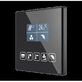 Square TMD-Display KNX - Interrupteur capacitif KNX - Zennio - ZVI-SQTMDD