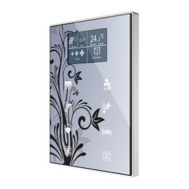 TMD-Display One - Interrupteur capacitif Touch-MyDesign avec afficheur et thermostat - Zennio
