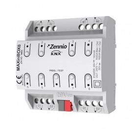 MAXinBOX 8 - Actionneur 8 sorties 16A KNX multifonction - Zennio