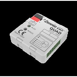 QUAD - Module d'entrées analogique-numériques - Zennio