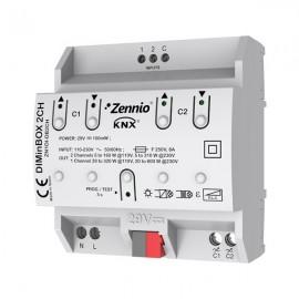 DIMinBOX 2CH - Actionneur variateur Universel 2 canaux - Zennio - ZDI-DB2C