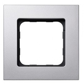 Cadre Smoove acier mat - Somfy - 9015025