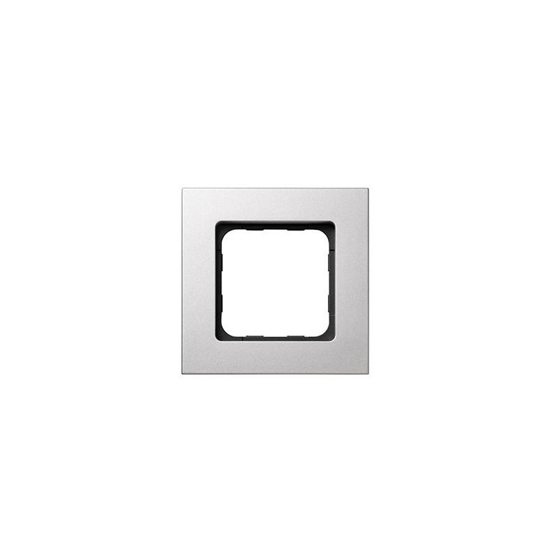 cadre smoove acier laqu somfy 9015024. Black Bedroom Furniture Sets. Home Design Ideas