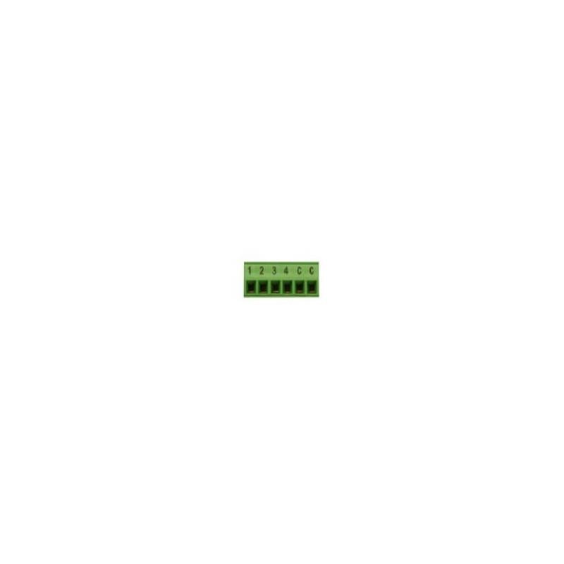 Connecteur entrées QUAD (6 POLES) - Zennio