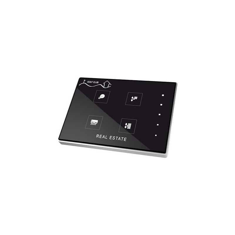 Touch-MyDesign - Interrupteur capacitif KNX - Zennio