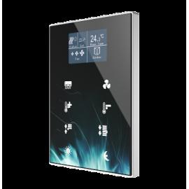 Interrupteur capacitif Touch-MyDesign avec afficheur et thermostat - Zennio