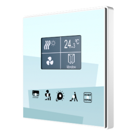 Square TMD-Display KNX - Zennio