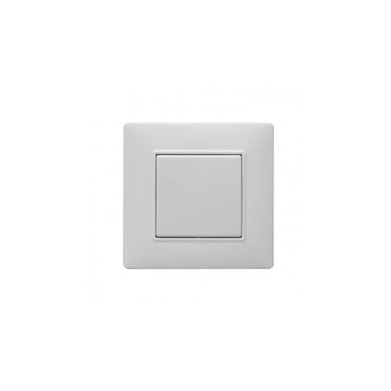 Interrupteur V.V. blanc Plana -1 touche - Vimar