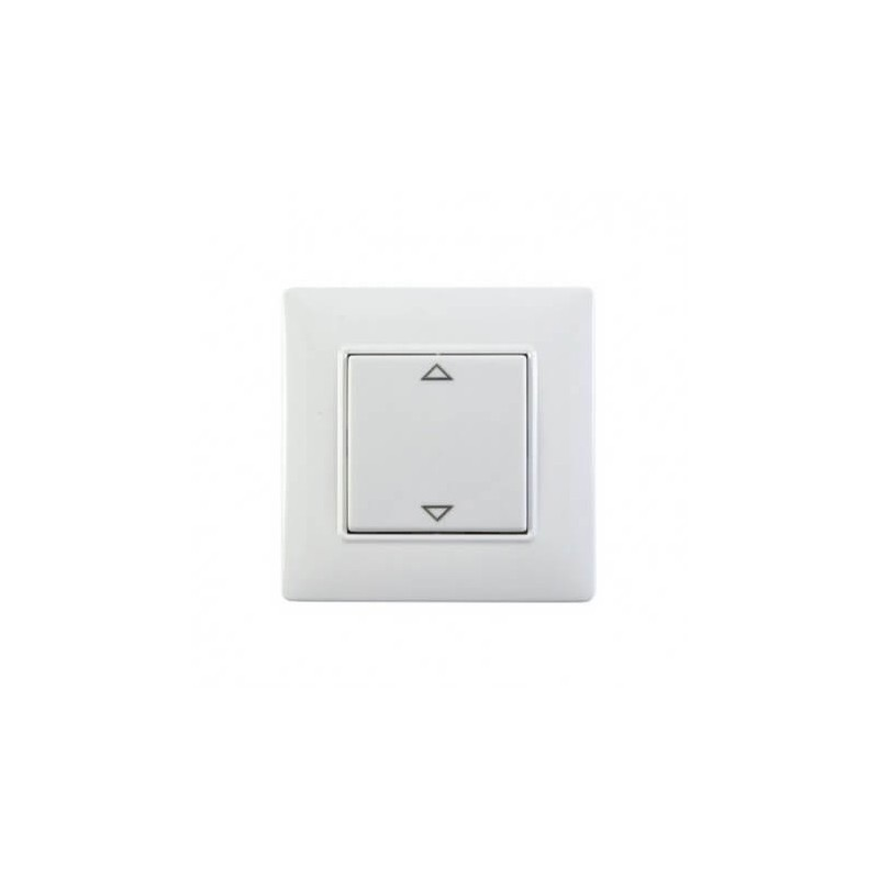 Interrupteur Volet Roulant blanc Plana -1 touche - Vimar