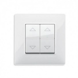 Interrupteur Volet Roulant blanc Plana -2 touches - Vimar