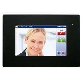 """IDDERO Panneau tactile de 7"""" avec serveur web et fonction portier vidéo HC2-KNX"""
