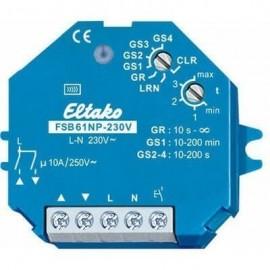 FSB61NP-230V - Actionneur radio télérupteur, commande de stores et rideaux à rouleaux, encastrable - Eltako