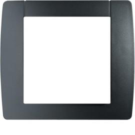 WK501 - Kallysta classic plaque 1 poste Carbone - Hager