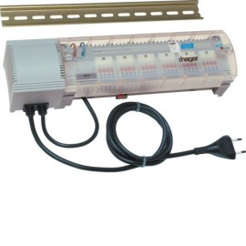 TX206H - Module 6 sorties pour chauffage eau chaude KNX - Hager