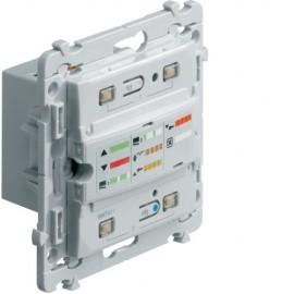 WKT421 - Kallysta E/S VR 4 fils KNX radio QL KNX - Hager