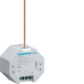 TRB501 - 1 Ent. + 1 Sort. 10A à enc. KNX radio QL - Hager