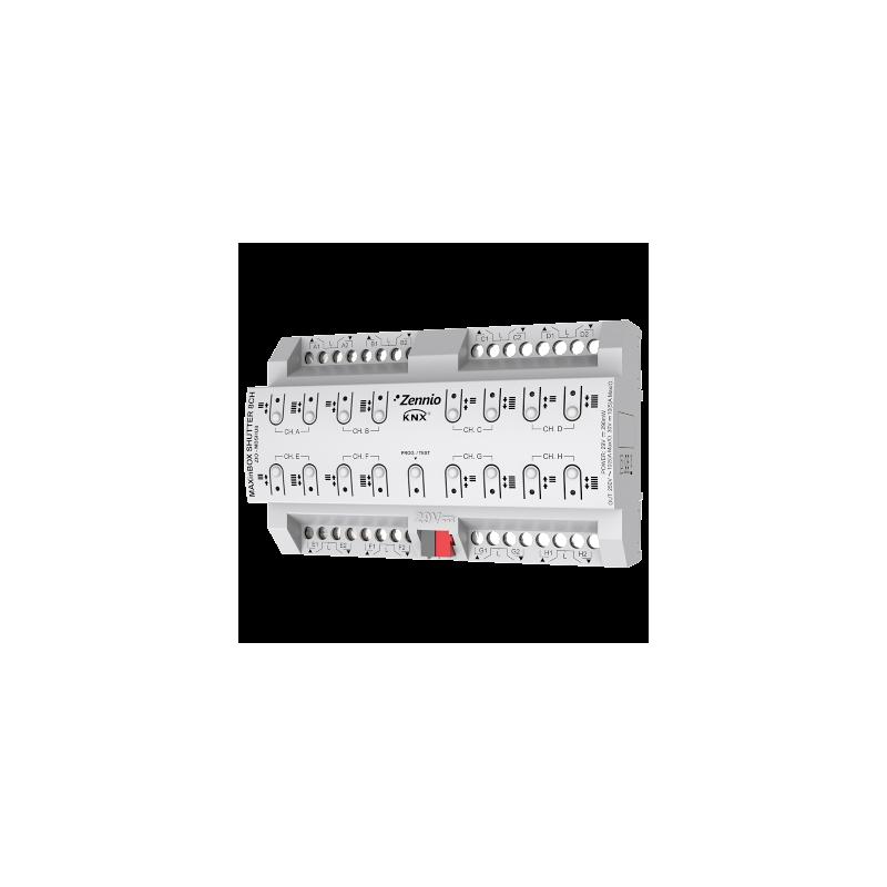 MAXinBOX Shutter 8CH - ZIO-MBSHU8 - Zennio