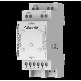 Shutter Coupler 2CH - ZAC-SHUC2C - Zennio