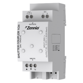 Shutter Coupler 1CH - ZAC-SHUC1C - Zennio