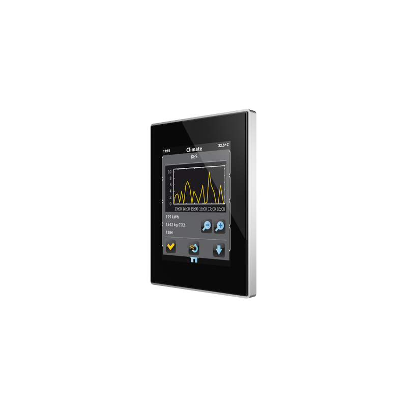 Z41 Lite - Ecran tactile couleur capacitif KNX - Cadre aluminium - ZVI-Z41LIT - Zennio